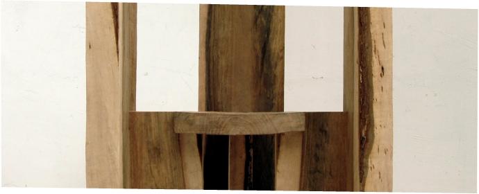 Holzobjekte von Mario Wesecky