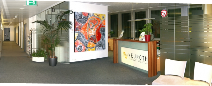 """Gehörgänge"" in der medical division neuroth"